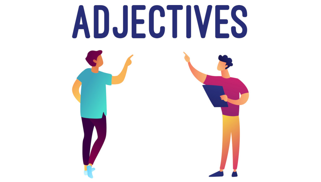 Adjective and Verb ESL posters