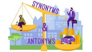 Synonyms & Antonyms ESL Activities